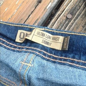 Old Navy Jeans - Old Navy Jeans 16 Ultra Low Waist Skinny Stretch